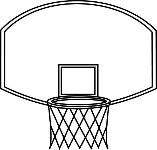 Black and White Basketball Ba - Basketball Clipart Black And White