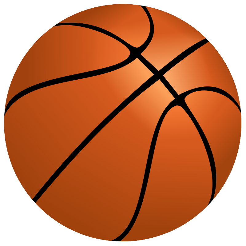Basketball clipart free sports images org