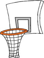 Basketball hoop clipart - ... 2a495038633fddb6b2918812de6b0f .