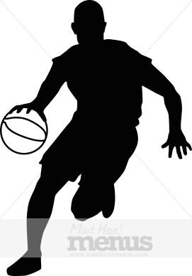 Basketball Player Clipart