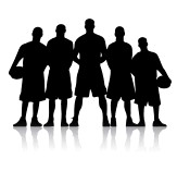 Basketball scoreboard clipart: basketball : Basketball Team