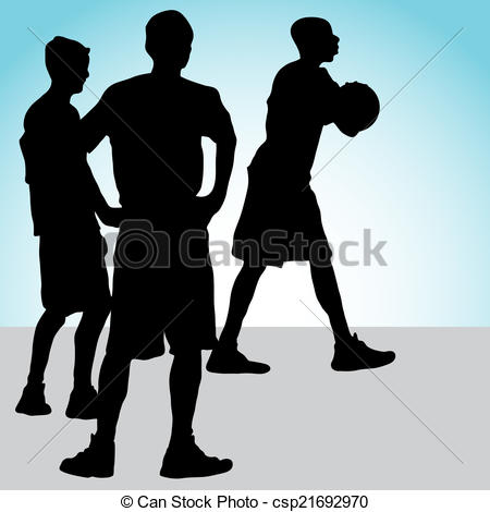 Basketball Team - csp21692970