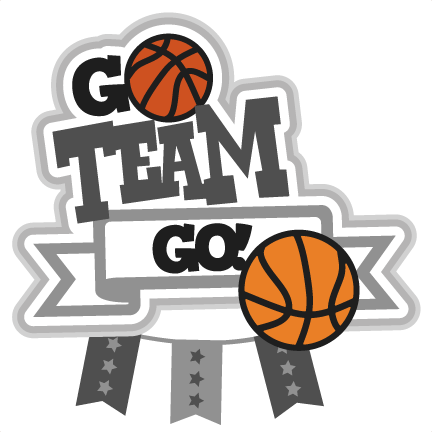 Basketball Team Go Clipart #1