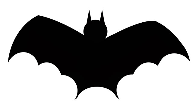 Bat Clipart Black And White Free Clipart Images