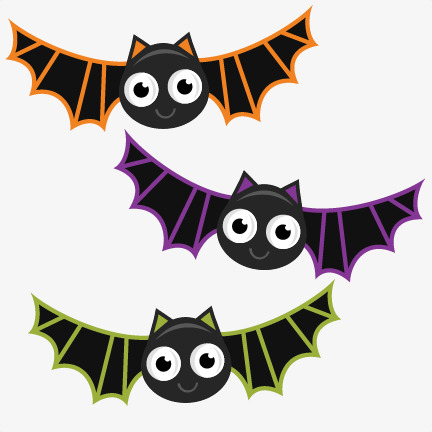 hand-painted cartoon cute bat, Cartoon Clipart, Cute Clipart, Bat Clipart  PNG