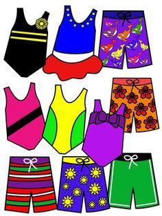Bathing Suit Clipart - Blogsbeta