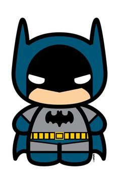 Cute Batman Clipart #1