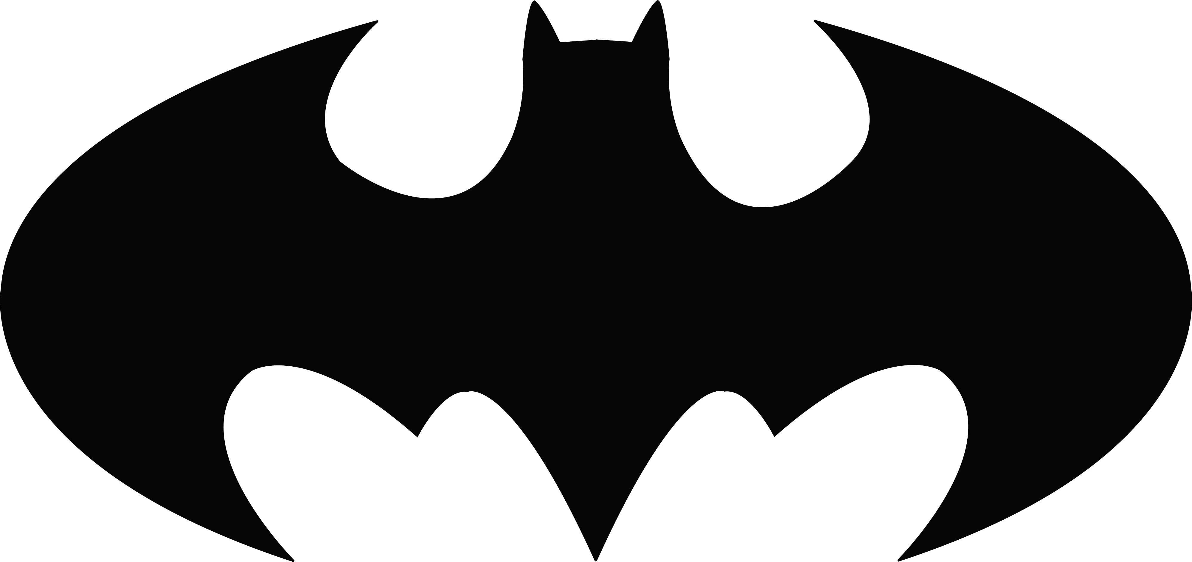 Free Clipart Of A batman icon
