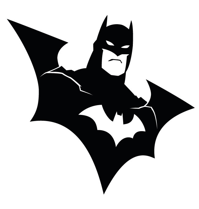 Staggering Clipart Batman 76 For School Clipart with Clipart Batman