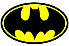 Batman Logo Template Tutorial; Masonu0026#39;s 4th Birthday Party ...