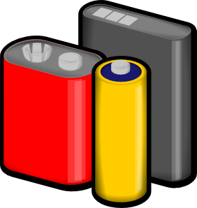 Batteries Clip Art
