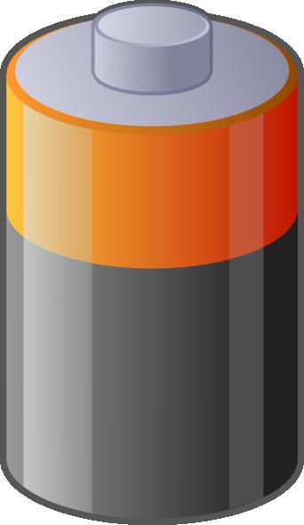 Battery clip art Free Vector