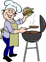 Barbecue clipart bbq chef #2