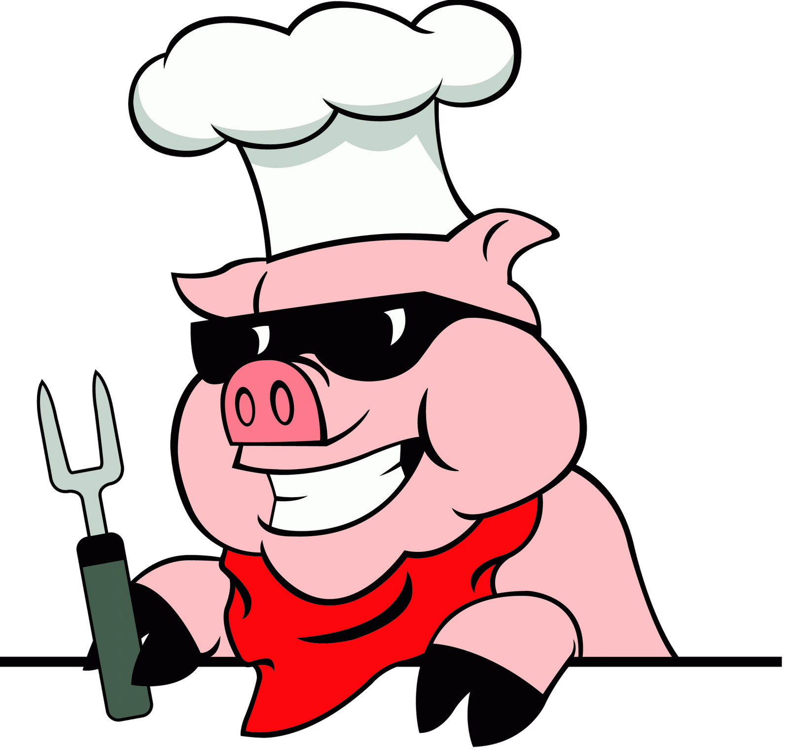 Pig bbq clipart free clipart images 2