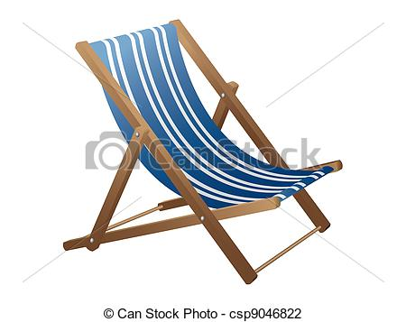 Beach chair Clip Artby ...
