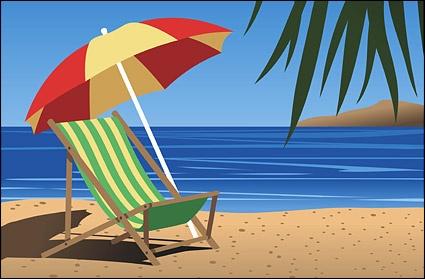 Beach Chair Vector Free