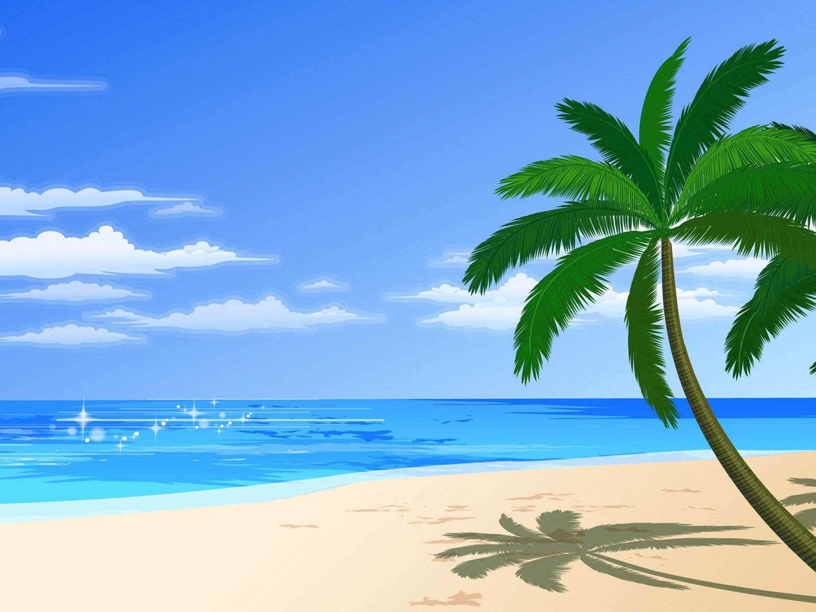 Beach clipart wallpaper 3