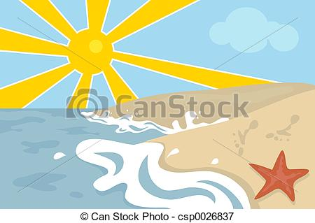 ... Beach Scene - Beach scene design.