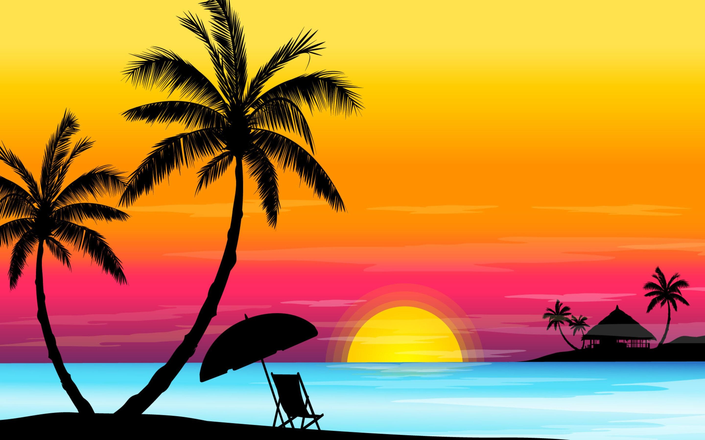 Beach Sunset Wallpaper High .