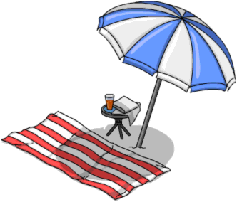 pin Umbrella clipart beach towel #2