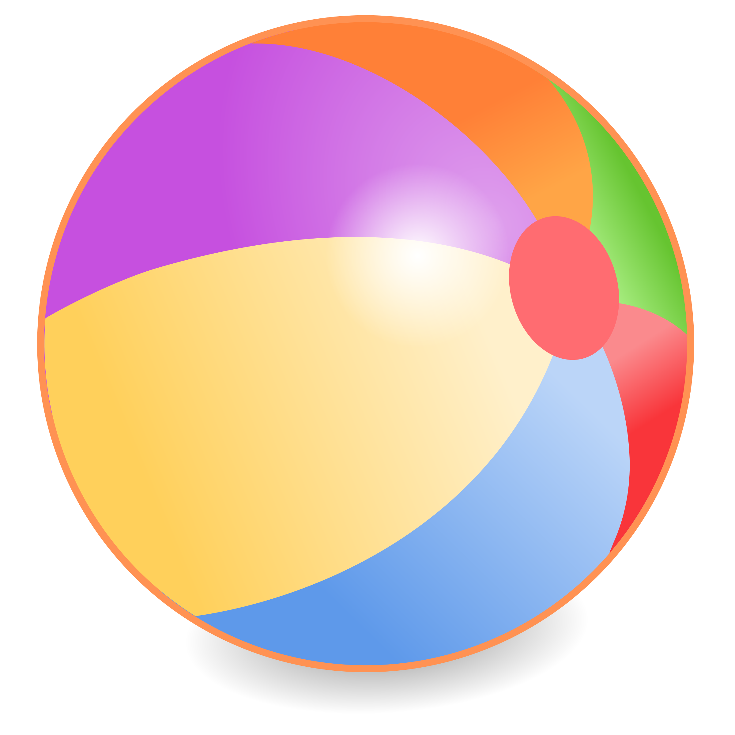 Beach Ball Clipart Beachball