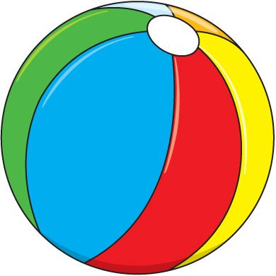 Beach ball summer clip art su - Beachball Clipart
