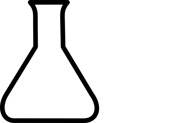 Beaker Clipart Black And White Free Clipart Images