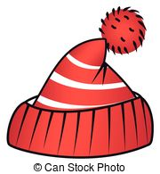 . Hdclipartall.com Beanie With Pompom - Illustration Of A Red Sports Beanie.
