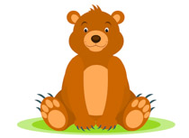 bear clipart. Size: 89 Kb