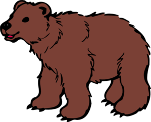 Brown Bear Clip Art