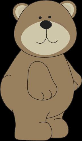 Brown Bear Standing Up