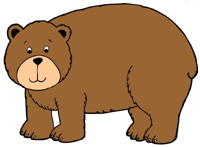Cute brown bear clipart free clipart images