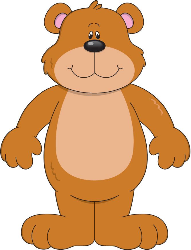 Weather Bear Clipart #1