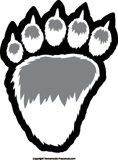 Bear Paw Prints