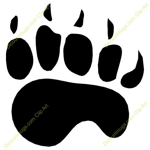 Bear Tracks Clip Art This Bear Claw Clip Art