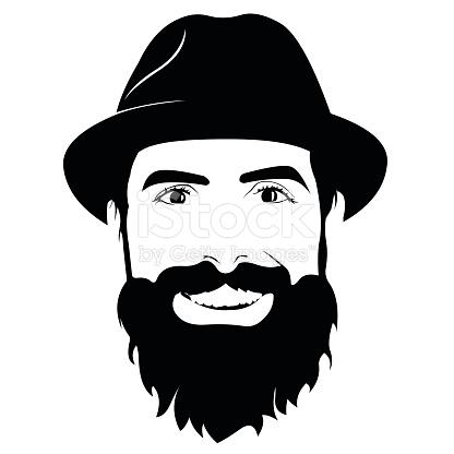 Beard clipart bearded man #2