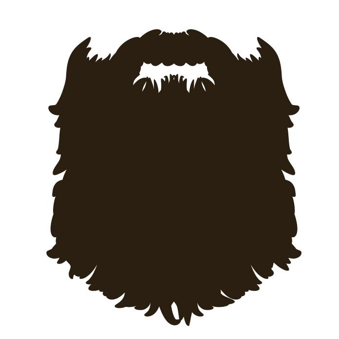 Brown Hair clipart brown bear - Beard Clipart