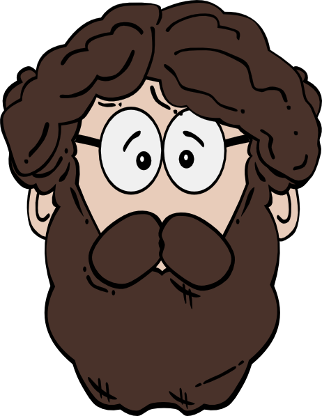 Beard Clipart this image as: