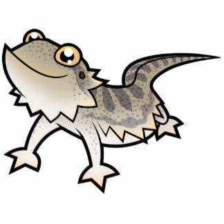 Bearded Dragon Clip Art: Cartoon Bearded Dragon