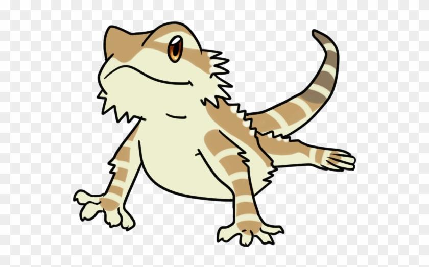 Bearded Dragon Clipart - Bearded Dragon Drawing