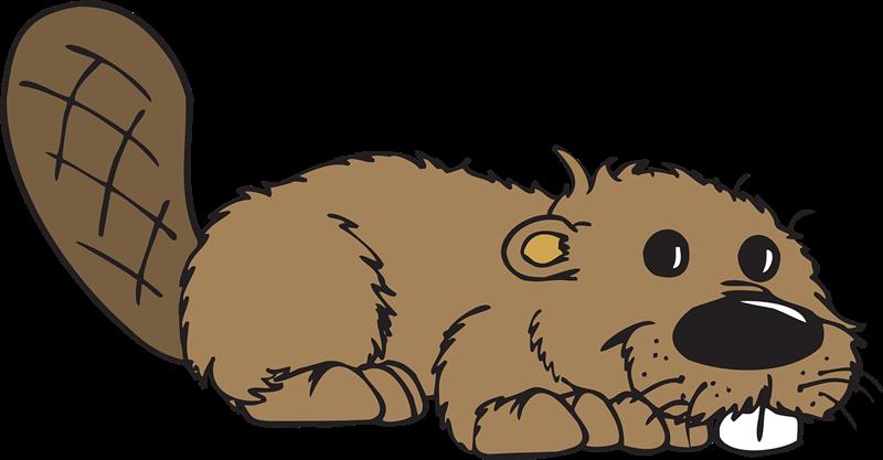 beaver clip art #2