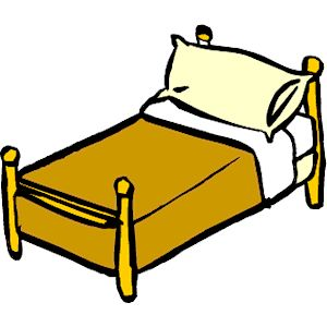bed clipart | Bed 1 clipart, .