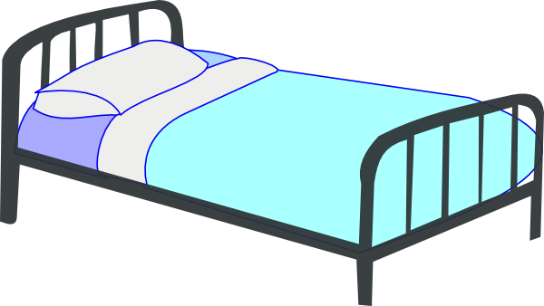 Bed Clipart this image as: - Bed Clipart