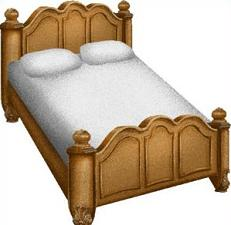 Free Bed Clipart