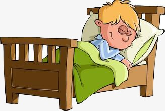 go to bed, Bed Clipart, Color, Cartoon PNG Image and Clipart