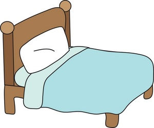 Bed Clipart Image: Clipart