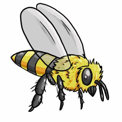 Bee Clip Art 6