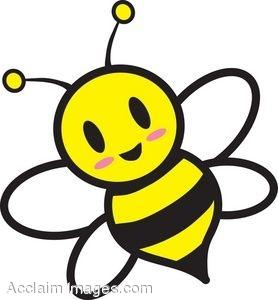 Bee Clip Art Free