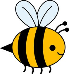 Bee Clipart Black And White   Clipart Panda - Free Clipart Images