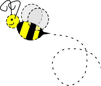 Bee Flying Clipart. 19d4abeaa806801fb2f9e4090940d1 .